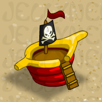 Inflatable Bouncy Pirate Ship in Neohomes 2.0.