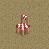 Checked Kitchen Chair in Neohomes 2.0.