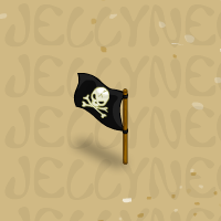 Outdoor Pirate Flag in Neohomes 2.0.