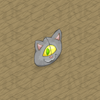 Meowclops Head Pillow in Neohomes 2.0.