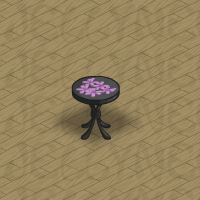 Gothic Patio Table in Neohomes 2.0.