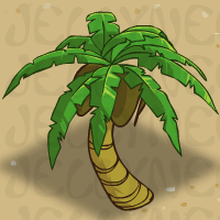 Holiday Tiki Palm in Neohomes 2.0.