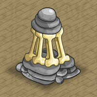 Rock and Bone Sculpture in Neohomes 2.0.