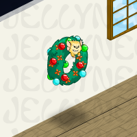 Angry Meekins Holiday Wreath in Neohomes 2.0.