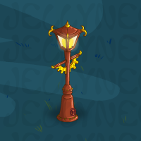 Gas Lamp Post in Neohomes 2.0.