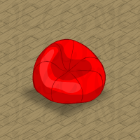 Red Bean Bag Chair In Neohomes 20