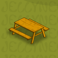 Traditional Picnic Table in Neohomes 2.0.